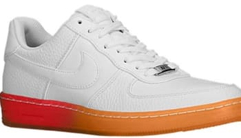 Nike Air Force 1 Downtown Low Breeze White/White-Light Crimson-Atomic Mango