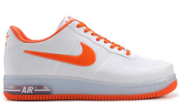 Nike Air Force 1 Foamposite Pro Low QS White/Safety Orange