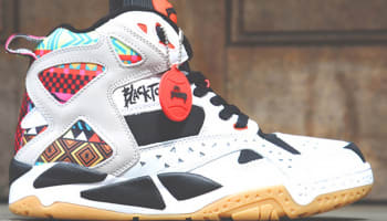 Reebok Blacktop Battleground Pump White/Black-Multi-Color
