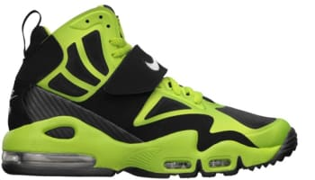 Nike Air Max Express Black/Metallic Silver-Brilliant Green-White