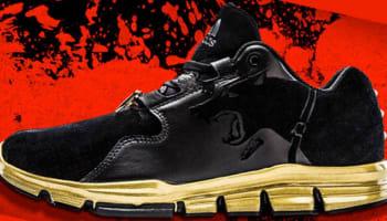 adidas Gameday Black/Black-Gold Metallic