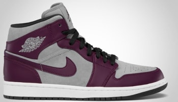 Air Jordan 1 Phat Mid Bordeaux/Stealth-Black-White