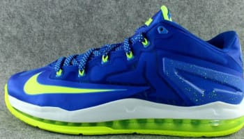 Nike LeBron 11 Low Hyper Cobalt/Volt-White-Photo Blue