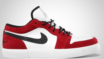 Jordan Retro V.1 White/Black-Gym Red