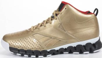 Reebok Zig Encore Gold/Red-Black-White
