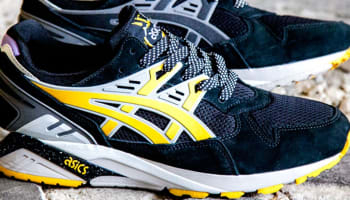 Asics Gel Kayano Trainer Black/Charcoal-Yellow