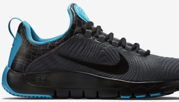 Nike Free Trainer 5.0 V5 N7 Anthracite/Dark Turquoise-White-Black
