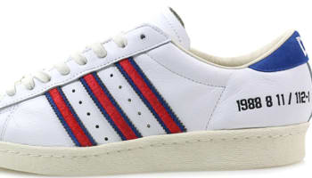adidas Consortium Superstar White/Red-Blue