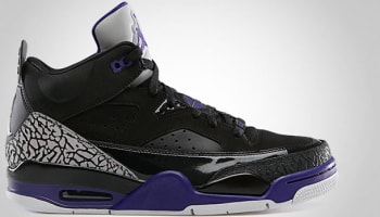 Jordan Son Of Mars Low Black/Grape Ice-White