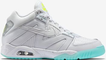 Nike Air Tech Challenge III White/Volt-Metallic Silver-White