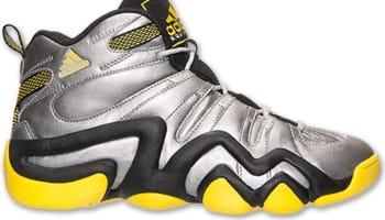 adidas Crazy 8 Metallic Silver/Black-Yellow