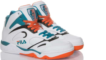 Fila KJ7 White/Radiant Orange-Black-Scuba Blue