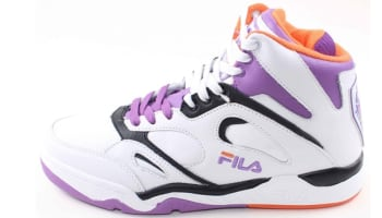 Fila KJ7 White/Dewberry-Vibrant Orange