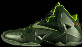 Nike LeBron 11 Mica Green/Sea Spray-Dark Mica Green-Volt