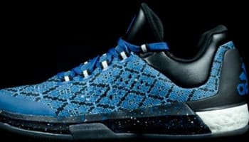 adidas Crazylight Boost 2015 Black/Silver Metallic-Capitol Blue