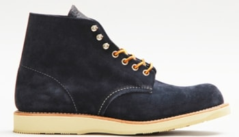Red Wing Plain Toe Black/Black
