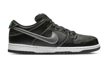 Diamond Supply Co. x Nike SB Dunk Low Black/Chrome-Black-Tropical Twist
