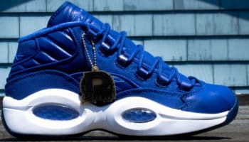 Reebok Question Mid Canvas Royal