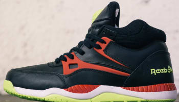 Reebok AXT Pump Black/Excellent Red-Solar Yellow-White