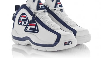 Fila 96 Varsity White/Peacoat-Chinese Red