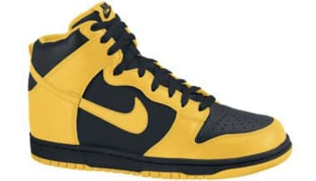 Nike Dunk High Black/Varsity Maize