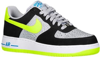 Nike Air Force 1 Low Reflect Silver/Volt-Black