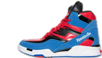 Reebok Twilight Zone Pump Tetra Blue/Excellent Red-Black-White