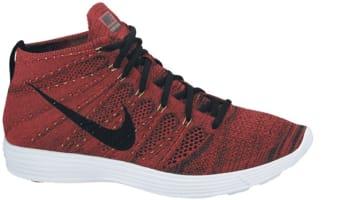 Nike Lunar Flyknit Chukka University Red/Black-Metallic Gold-White