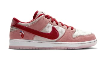 StrangeLove x Nike SB Dunk Low Bright Melon/Gym Red