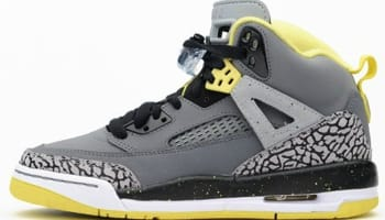 Jordan Spiz'ike GS Cool Grey/Vibrant Yellow-Black