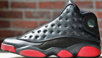 Air Jordan 13 Retro Black/Gym Red-Black