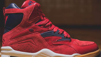 British Knights Enforcer Hi Red/Navy-Gum