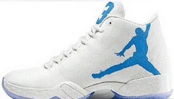 Air Jordan XX9 White/Legend Blue-White-Black