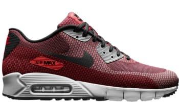 Nike Air Max '90 JCRD Laser Crimson/Dark Grey-Gym Red-Summit White