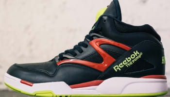 Reebok Pump Omni Lite Black/Excellent Red-Solar Yellow-White