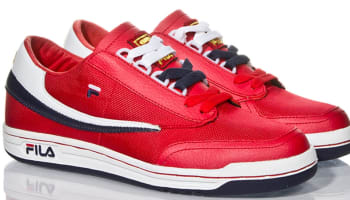 Fila Original Tennis Fila Red/White-Fila Navy