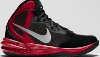 Nike Prime Hype DF Winterized N7 Black/University Red-Hyper Punch-Metallic Silver