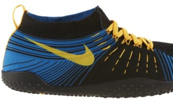 Nike Free Hyperfeel Trainer Black/White-Military Blue-Laser Orange
