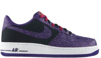 Nike Air Force 1 Low Black/Court Purple