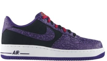 Nike Air Force 1 Low Black/Court Purple