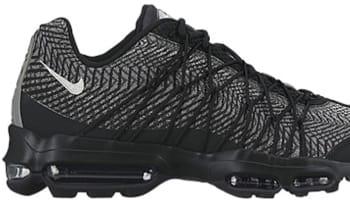Nike Air Max '95 Ultra JCRD Black/Metallic Silver-Dark Grey-White