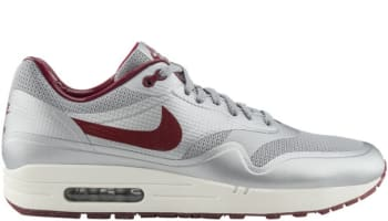 Nike Air Max 1 Hyperfuse Metallic Silver/ Deep Red-Sail