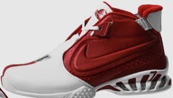 Nike Zoom Vick 2 White/Metallic Silver-Varsity Red