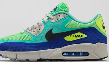 Nike Air Max '90 BRZ City Crystal Mint/Black-Hyper Blue-Straight Grey