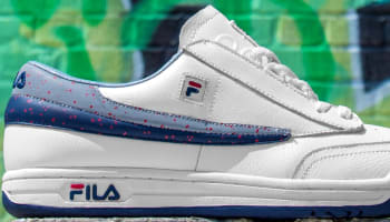 Fila Original Tennis White/Fila Navy-Fila Red