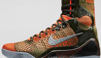 Nike Kobe 9 Elite Sequoia/Rough Green-Hyper Crimson-Reflect Silver
