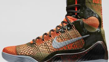 Nike Kobe 9 Elite Sequoia/Rough Green-Hyper Crimson-Reflect Silver