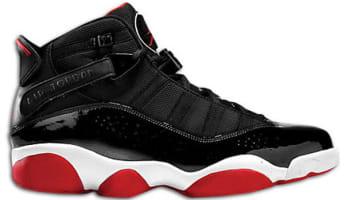 Jordan 6 Rings Black/White-Gym Red