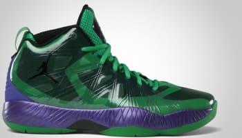 Air Jordan 2012 Lite Super Heroes Classic Green/Black-Court Purple