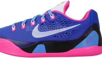 Nike Kobe 9 EM GS Hyper Pink/White-Hyper Cobalt